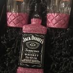 Geschenkset Glitzer Geschenkset (Flasche + Box) Jack Daniels