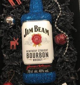 Geschenkset Glitzer Geschenkset Jim Beam Kentucky Straight Bourbon