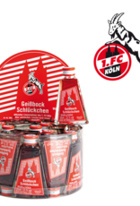 Likör Glitzer Mini Likör Geissbock Schlückchen 1. FC Köln (0,02l)