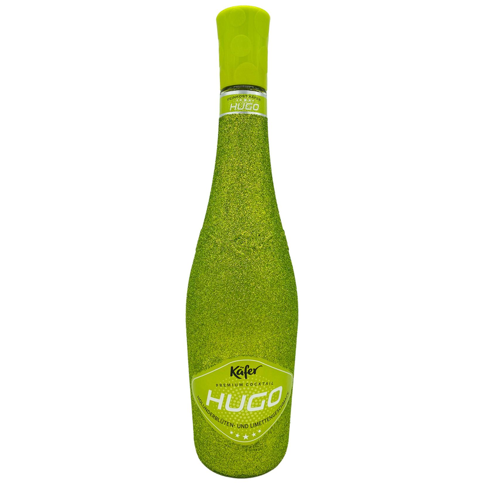 Champagner & Secco Glitzer Feinkost Käfer Hugo Holunderblüte (0,75l)