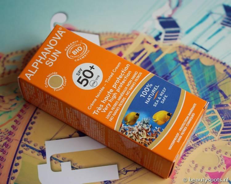 Review Alphanova Sun Face Tinted Cream SPF 50+ BIO