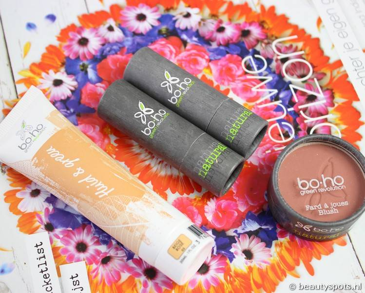 Review make-up look met Boho Cosmetics