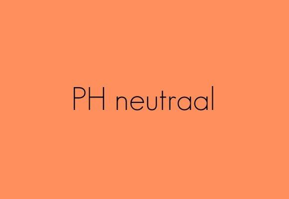 PH neutraal bij cosmetica
