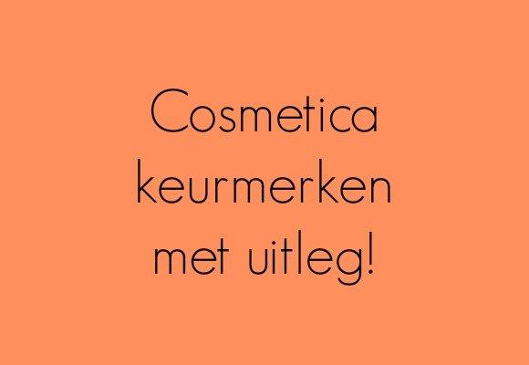 Cosmetica keurmerken met uitleg!