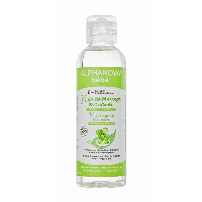 ALPHANOVA Bebe Organic Massage Oil 100ml