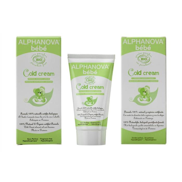 ALPHANOVA Bebe Organic Cold Cream 50g