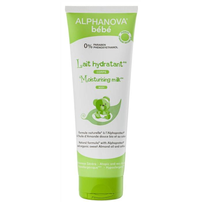 ALPHANOVA Bebe Moisturizing Milk for Atopic Skin BODY 250ml