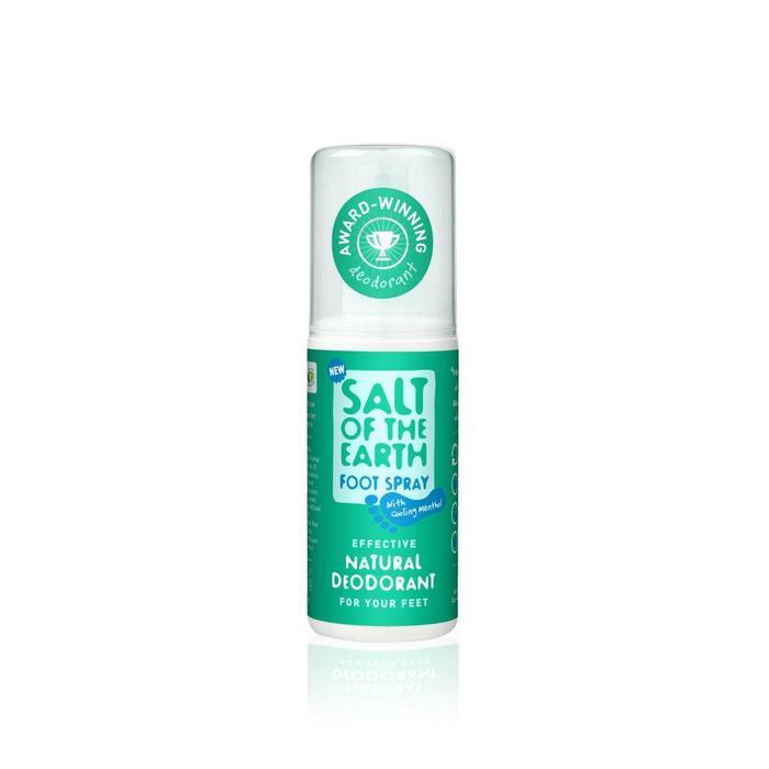 Salt of the Earth deodorant spray for your feet 100 ml.