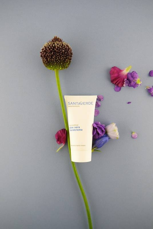 Review Santaverde aloë vera handcream