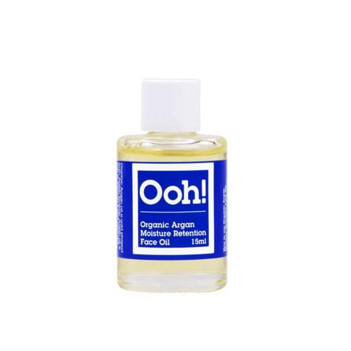 Ooh! - Oils of Heaven Organic Argan Moisture Retention Face Oil 15ml