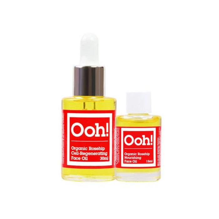 Ooh! - Oils of Heaven Organic Rosehip 100% Rozenbottleolie 30ml