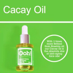 Ooh Oils of Heaven Natural Cacay Anti-Aging Face Oil 30ml