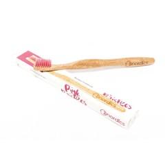 Nordics Bamboe Toothbrush Pink
