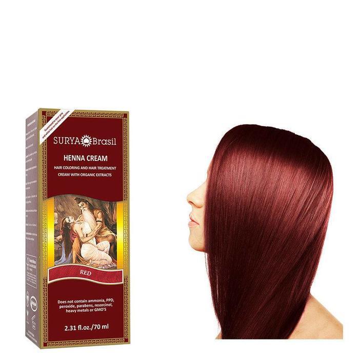 Surya Brasil Henna Haarverf Cream Red 70ml