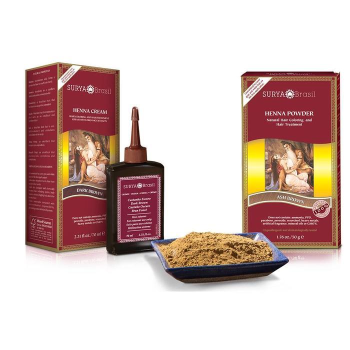 Surya Brasil Henna Haarverf Cream Mahogany 70ml