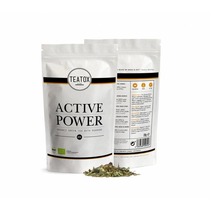Teatox Active Powder Bio 70g REFILL