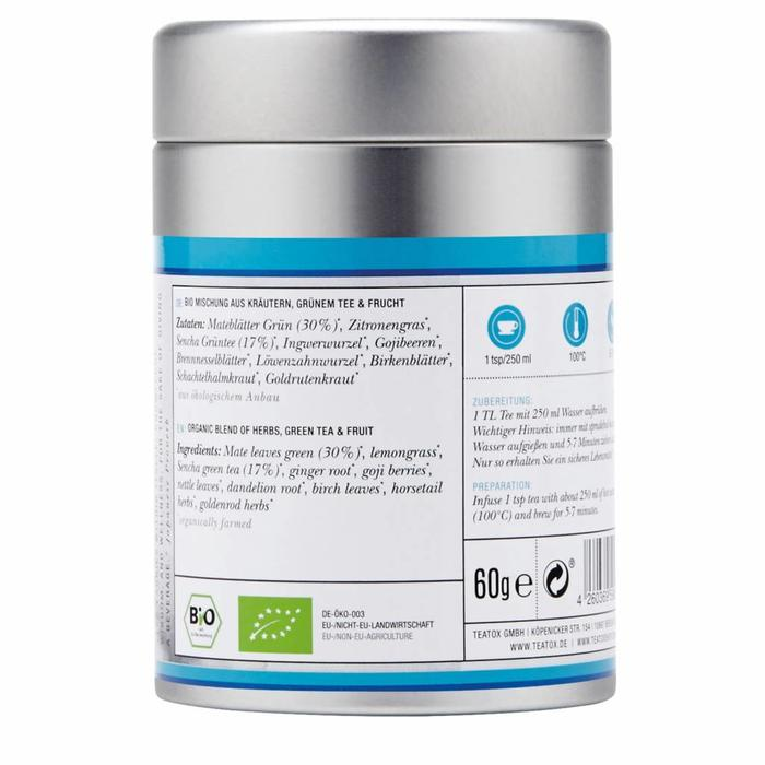 Teatox Skinny Bio Morning losse thee Tea 60g