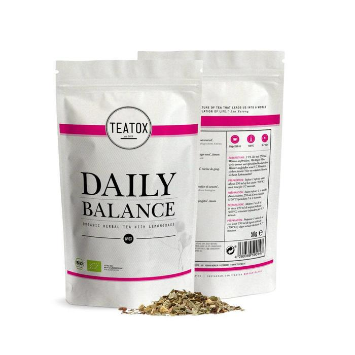 Teatox Daily Balance Bio Tea Lemongrass 50g REFILL