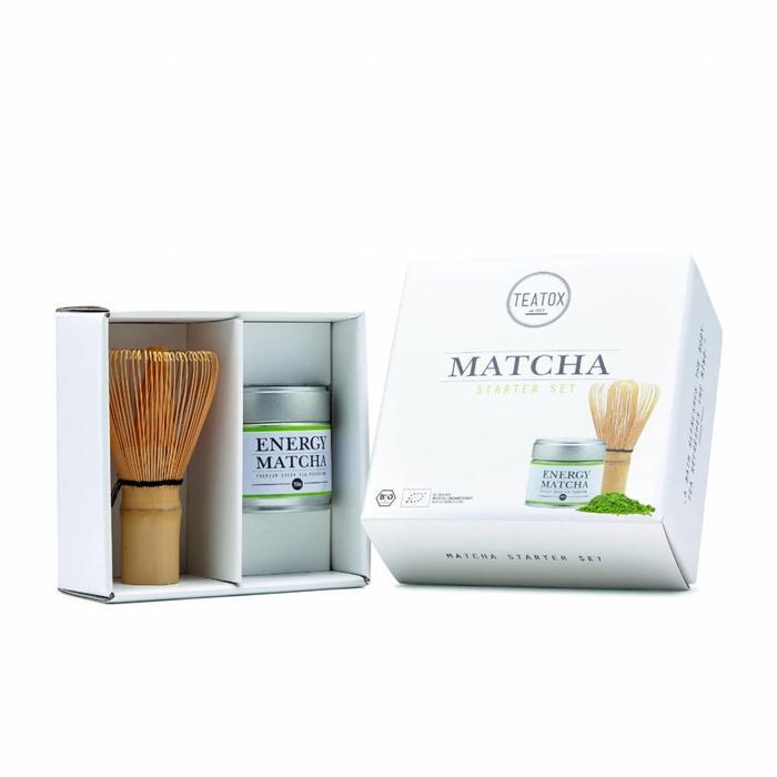 Teatox Matcha Starter Set Teatox Matcha en Bamboo Brush