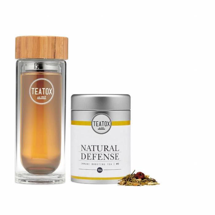 Teatox Natural Defense Bio Green Tea Ginger 70g