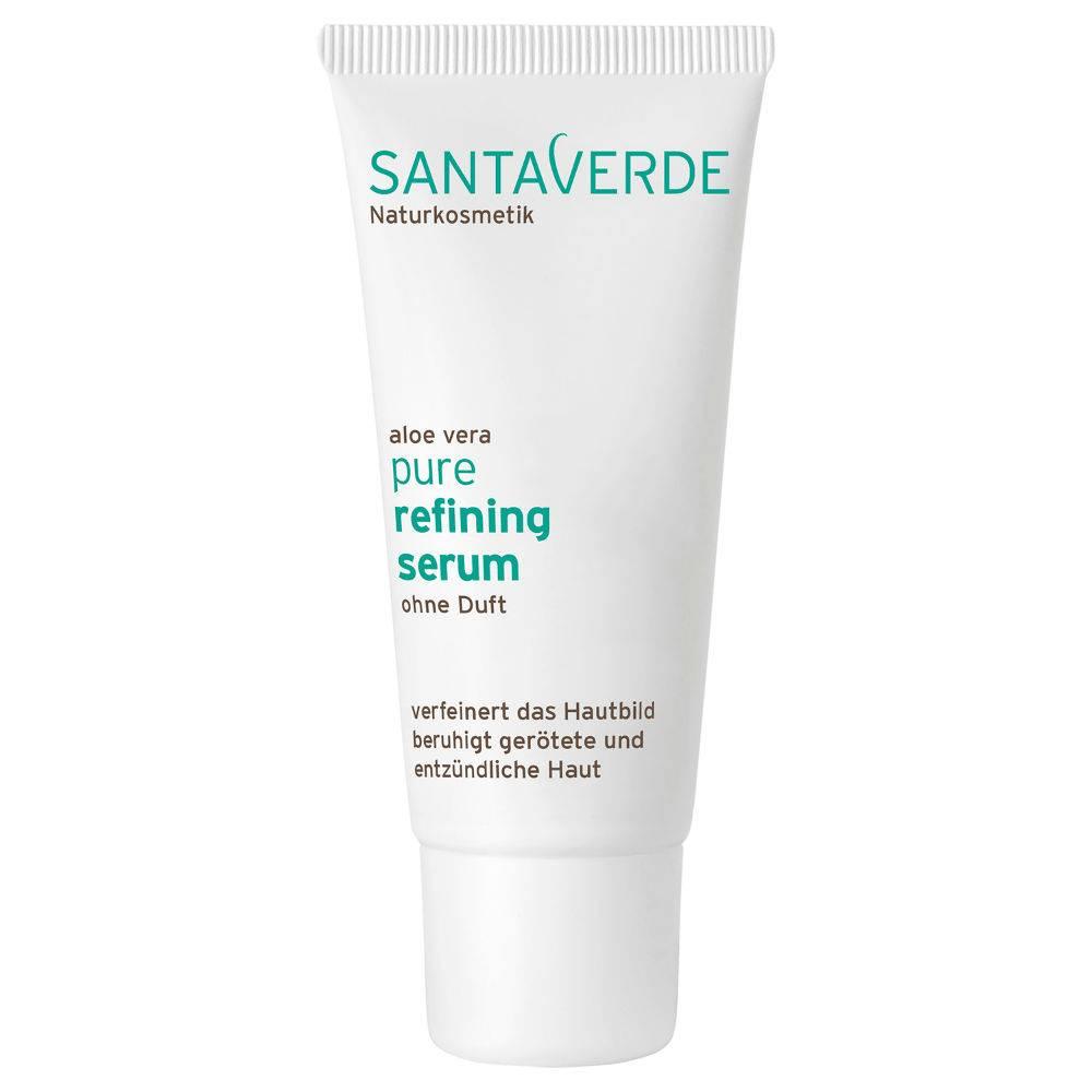 Santaverde Biologische Pure Refining Serum onzuivere geirriteerde huid