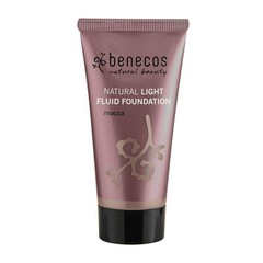 Benecos Light Fluid Natural Foundation Mocca