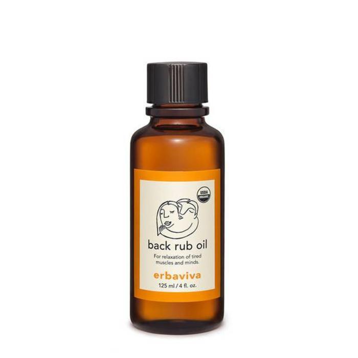 Erbaviva Back Rub Oil 125ml