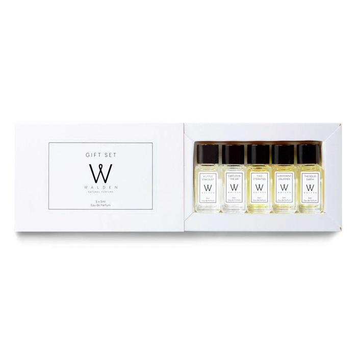 Walden Natural Perfume Gift Set 5x5ml