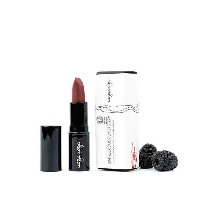 Uoga Uoga Lipstick Dangerous Black Berry 618 - 4g