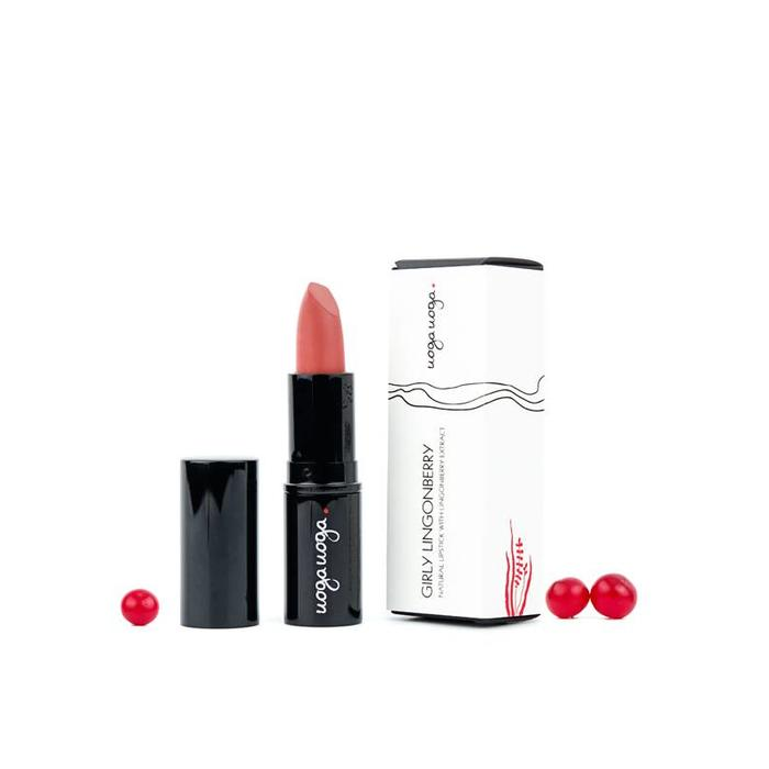 Uoga Uoga Lipstick Girly Lingonberry 612 - 4g