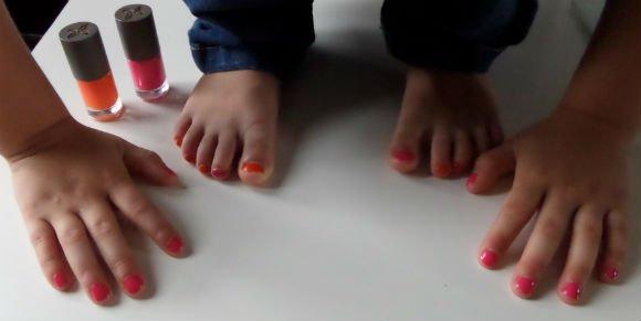 Boho natuurlijke nagellak voor kinderen