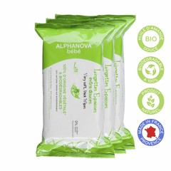 Alphanova BEBE Natural Wipes 3x72stuks