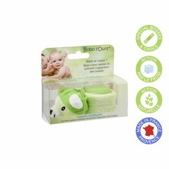 Alphanova BEBE BOBO Green Bear - cooling bear