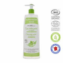 Alphanova BEBE Cleansing water with organic Chamomile FACE BODY 500ml