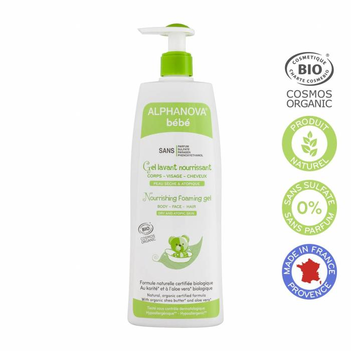 ALPHANOVA Bebe 3in1 Bubble Wash 500ml