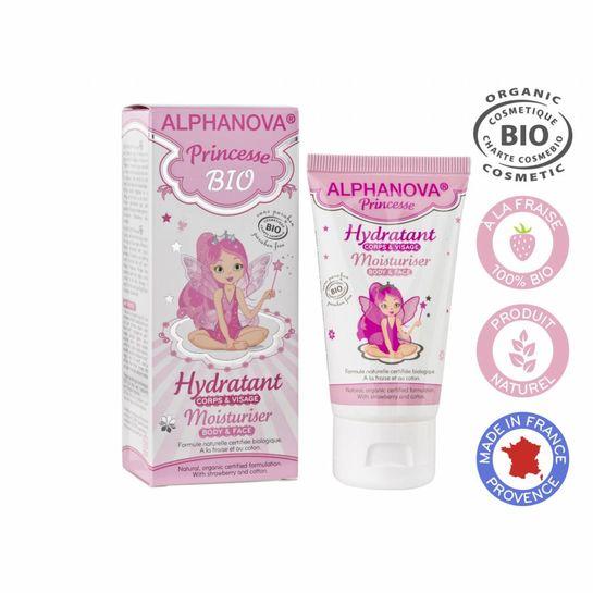 ALPHANOVA KIDS BIO Moisturising Cream Princesse 50ml