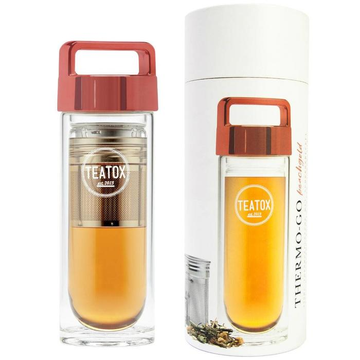 Teatox Thermo-Go Bottle Peachgold