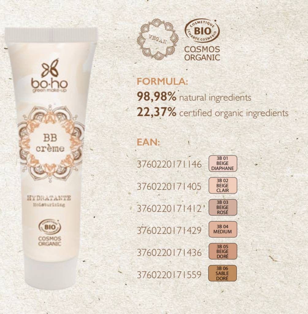 Boho Blemish Cream Balm Medium 04