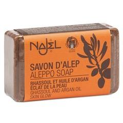 Aleppo Olijfzeep Najel Arganolie met Lava-aarde 100g