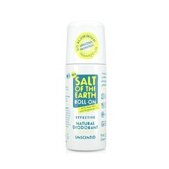 Salt of the Earth Natural Unscented Roll-On 75 ml