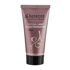 Benecos Light Fluid Natural Foundation 30ml Sahara