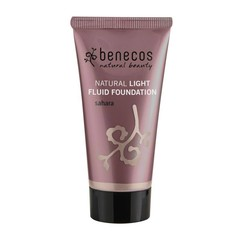 Benecos Light Fluid Natural Foundation Sahara