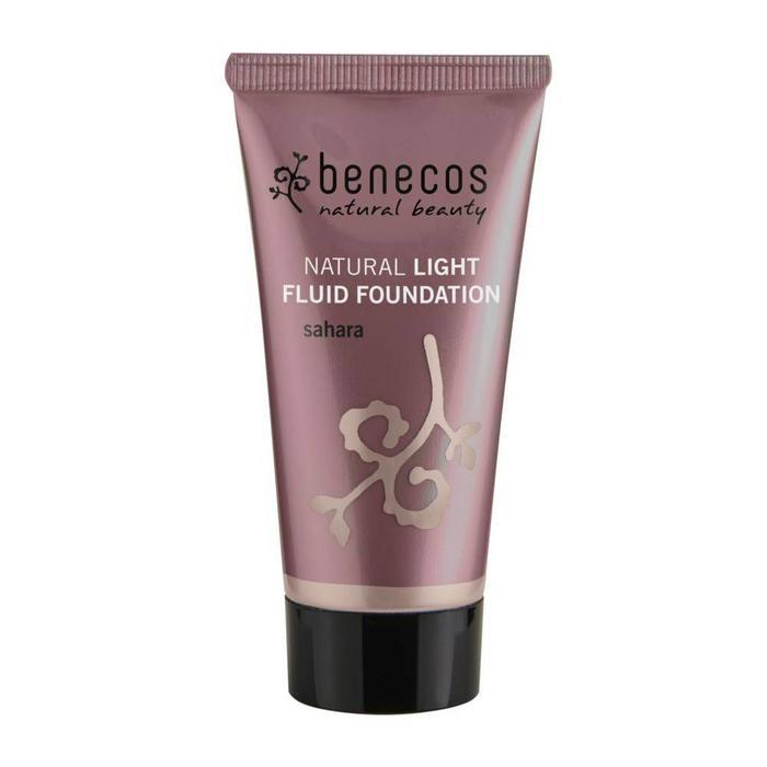 Benecos Light Fluid Natural Foundation Sahara
