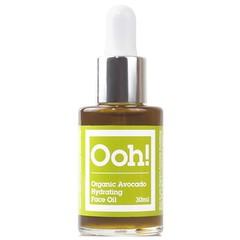 Ooh Oils of Heaven Natural Organic Avocado Hydrating Face Oil 30ml