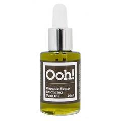 Ooh Oils of Heaven Natural Organic Hemp Balancing Face Oil 30ml