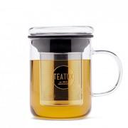 Teatox Glass Mug met Thee Filter 350ml