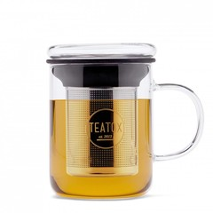 Teatox Glass Mug met Thee Filter 350ml