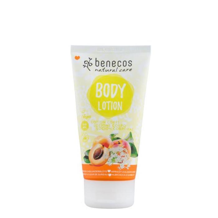 Benecos Natural Body Lotion Apricot - Elderflower