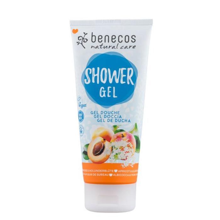 Benecos Natural Shower Gel Apricot - Elderflower