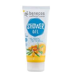 Benecos Natural Shower Gel Sea Buckthorn - Orange